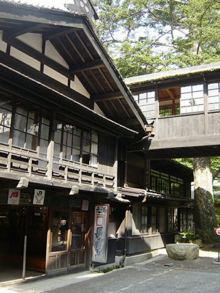 Baño Japones Tradicional:tradicional japonés se llama ryokan y ofrece alojamiento tradicional