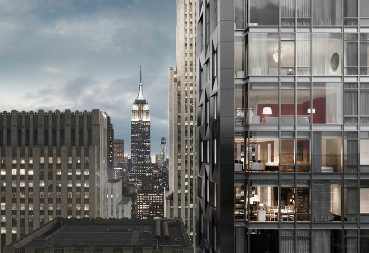 Baccarat hotel residences new york lujo excepcional en for Hotel centro new york