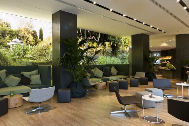 Un tranquilo hotel urbano en mil n adem s c ntrico y for Hoteles diseno milan