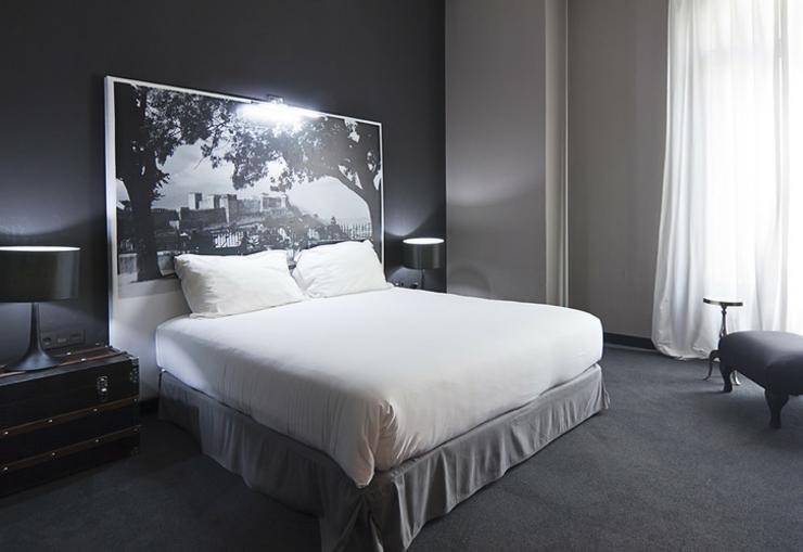 Fontecruz hotel en lisboa bajo la prestigiosa marca for Dormitorio blanco y negro