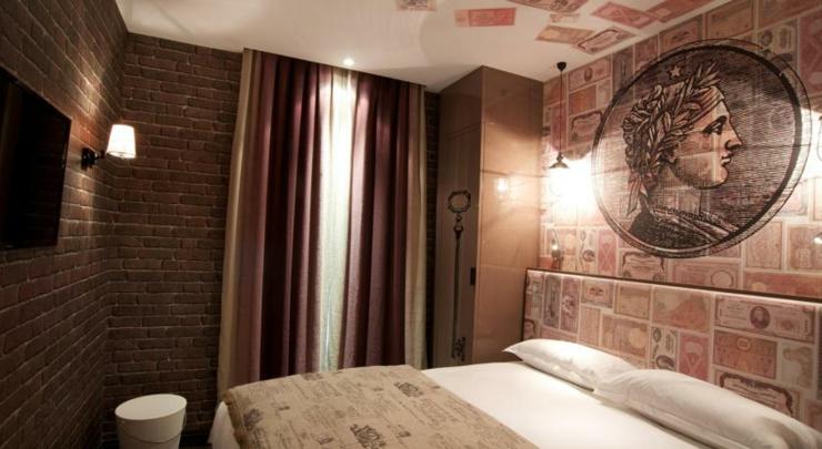 Vice versa hotel paris un hotel boutique originalmente for Ver habitaciones de hoteles