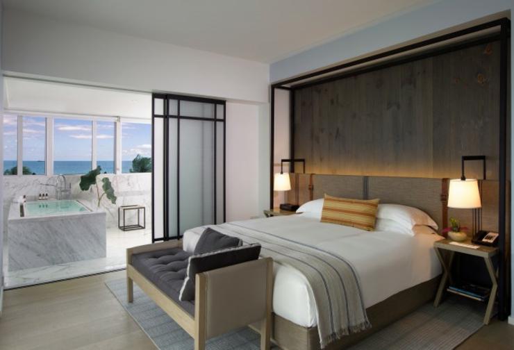 Vacaciones de lujo en un elegante hotel boutique en Miami ...