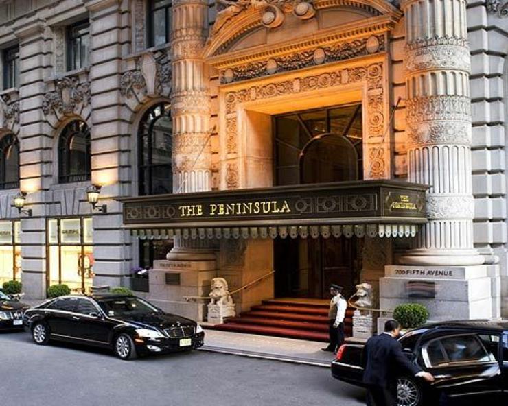 Pasar las vacaciones en un hotel de lujo hotel the for Fachadas de hoteles de lujo