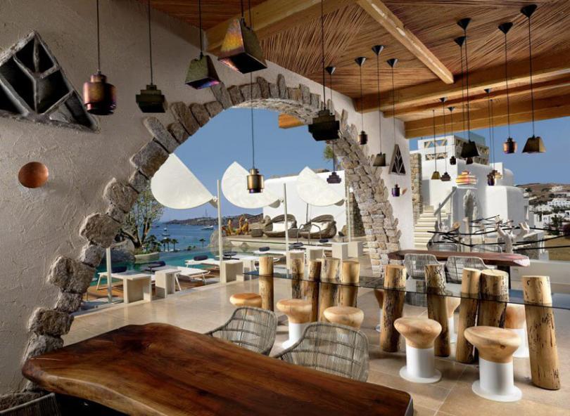 Las vacaciones de sus sue os en la m tica isla mykonos for Boutique hotel design guidelines