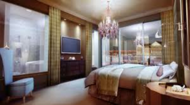 5 de los mejores hoteles de lujo en las vegas ver y visitar Detalles en habitaciones de hotel