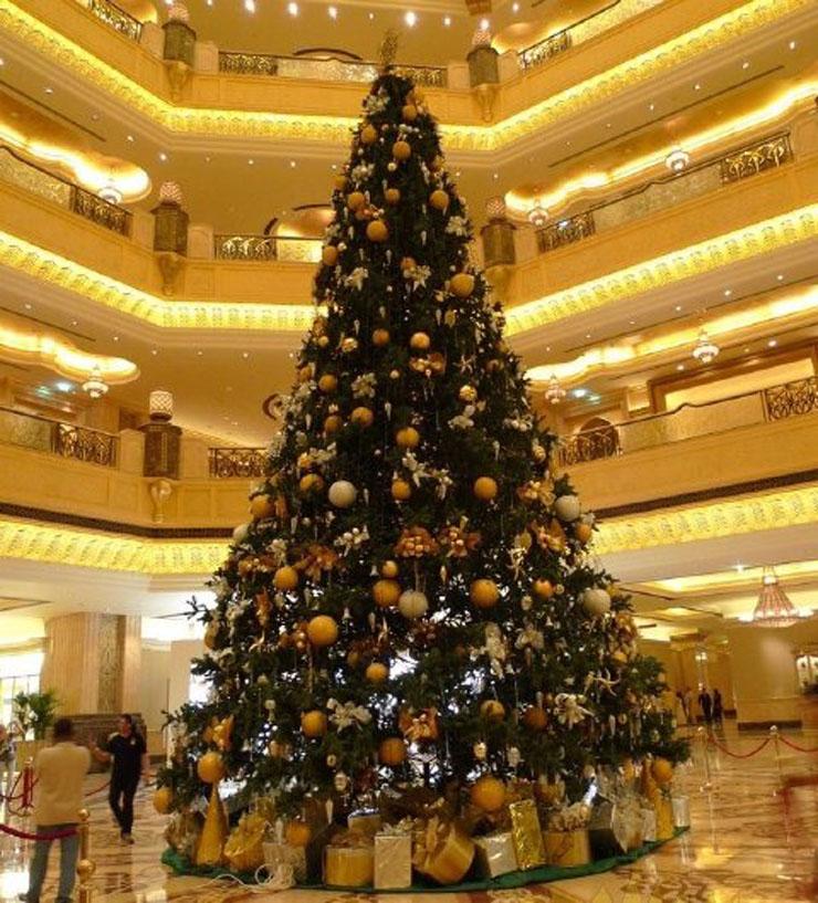 8 de los mejores rboles de navidad en hoteles de lujo - Los mejores arboles de navidad ...