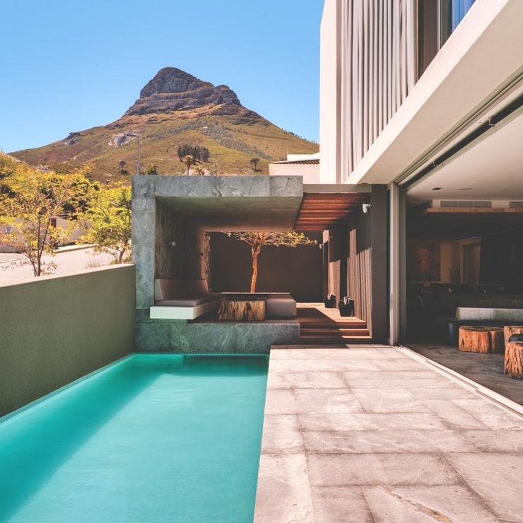 Coqueto hotel boutique en la riviera sudafricana ofrece for Hotel piscina privada