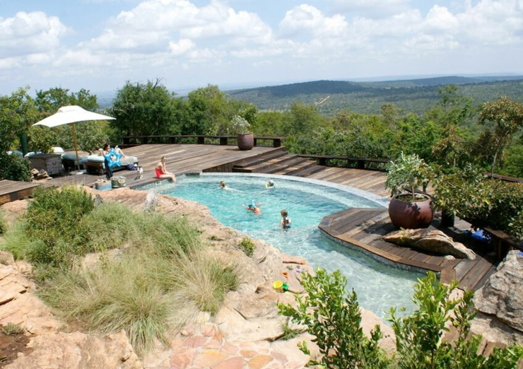 piscina air libre resort africa