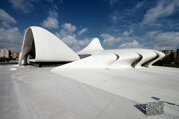 centro cultural heydar aliyev baku capital