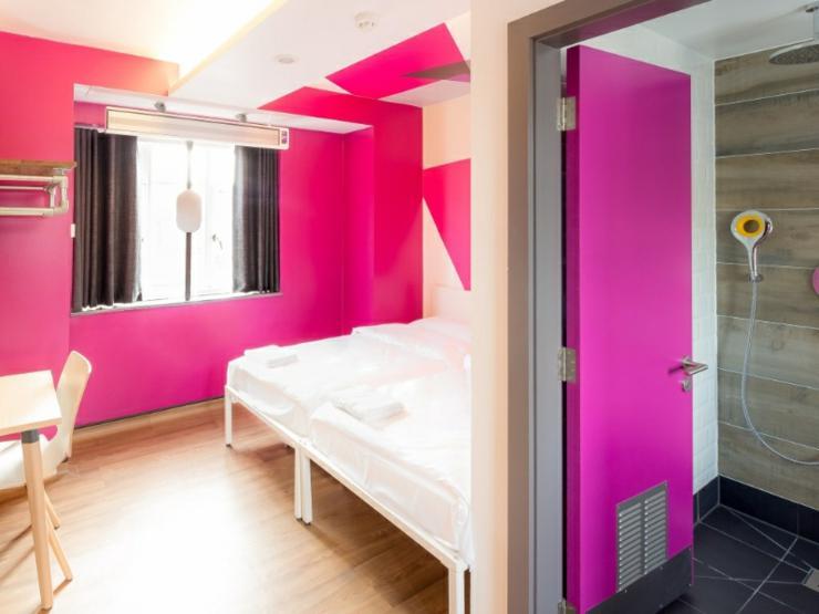 dormitorio hostel diseno moderno
