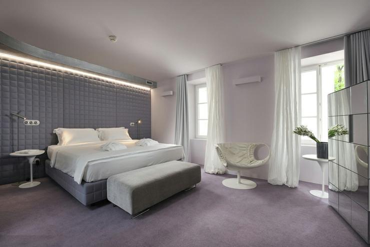 elegante hotel diseno luibliana