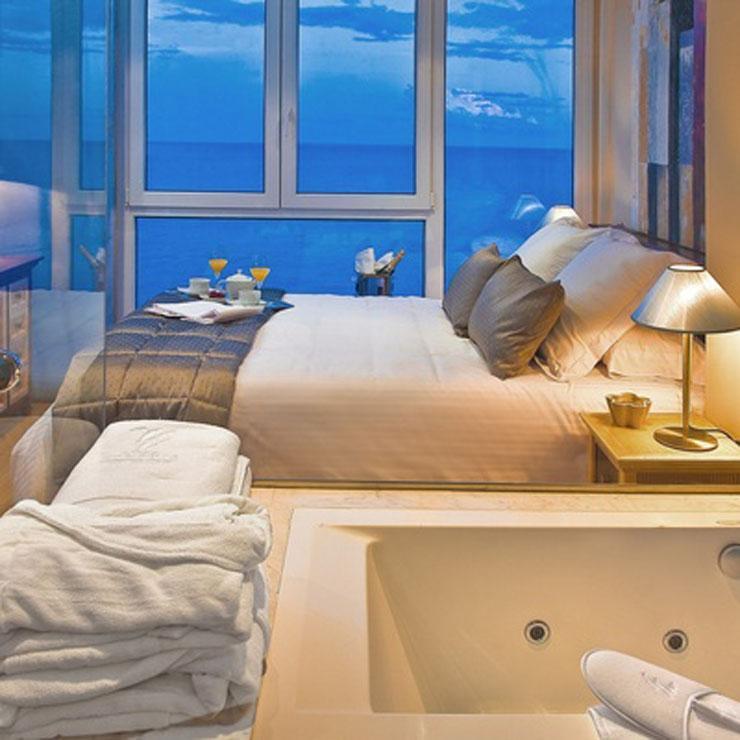 dormitorio vista magica hotel benidorm