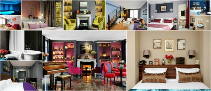romantico elegante hotel boutique paris
