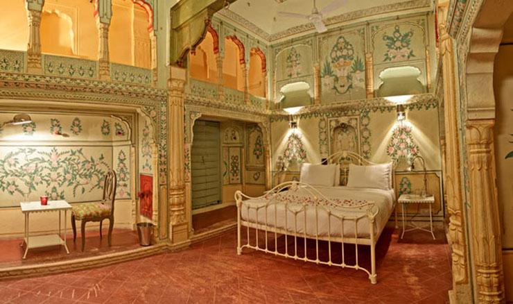 dormitorio espacioso hotel boutique india