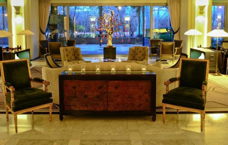 ultralujoso hotel madrid