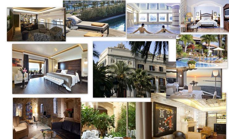 lista mejores hoteles lujosos espana