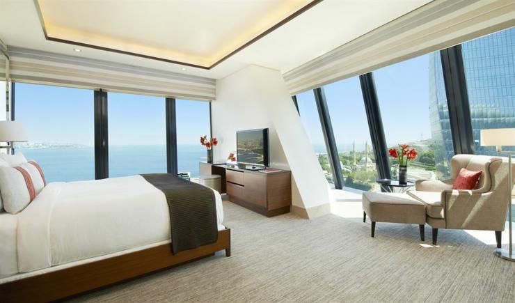 mejores modernos hoteles baku
