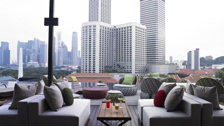 vistas impresionantes terraza hotel boutique
