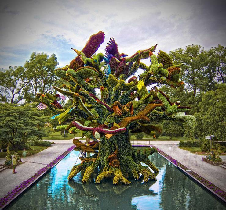 Jard n bot nico de montreal uno de los 5 mejores del for Jardin botanico en sevilla