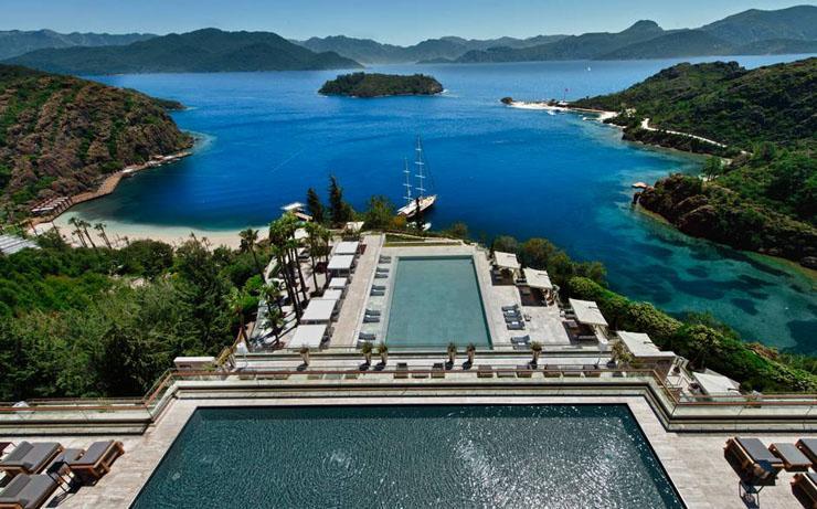 vacaciones lujo hotel moderno turquia