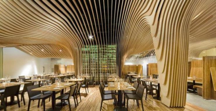 bar restaurante en EE.UU.que impreciona con un diseno unico