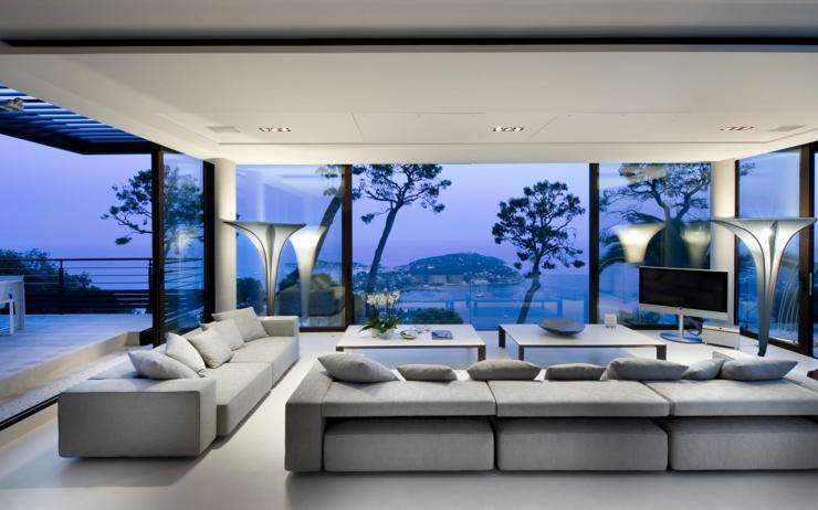 villa moderna alquiler francia