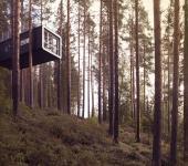 treehotel situado laponia suecia