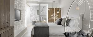vacaciones lujo hotel cicladas grecia