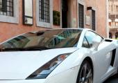 hotel roma coche lujo alquiler