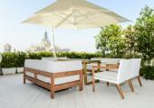 relax terraza privada vistas