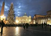 Arbol de Navidad en la Plaza de San Pedro