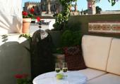 terraza hotel jerez vistas catedral