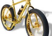 bici montanera oro solido