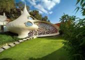 casa futurista arquitectura organica