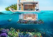 parte casas bajo agua