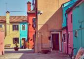 casas pintadas isla burano