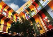 hostel situado centro capital hungara