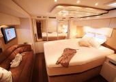 dormitorio disenado color cerezo