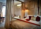 dormitorio elegante hotel lujoso