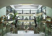 entrada hotel tenerife cupula acristalada