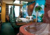 dormitorio exotica polinesia