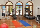 gimnasio moderno hotel lujo egipto
