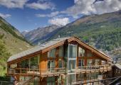 villa zermatt suiza belleza alpina
