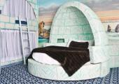 dormitorio disenado autentico iglu