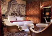hotel lujoso elegante corazon paris