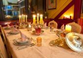 hostal estrasburgo cena velas
