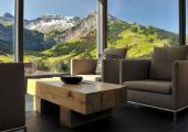 terraza suite vista magnifica alpes suizos