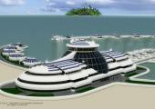 futuro resort solar flotante