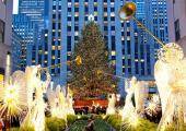 Emblemático arbol de Navidad en Nueva York