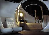 espaciosa habitacion tipo burbuja